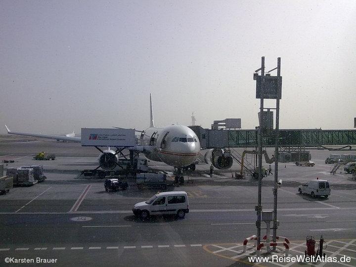 Abu Dhabi Intl Airport - Gate 31