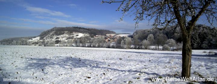 Blick zum Mühlenberg