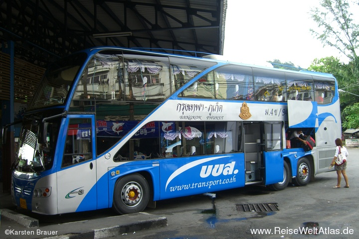 Bus: Bangkok - Phuket