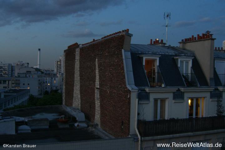 Dächer in Abendstimmung