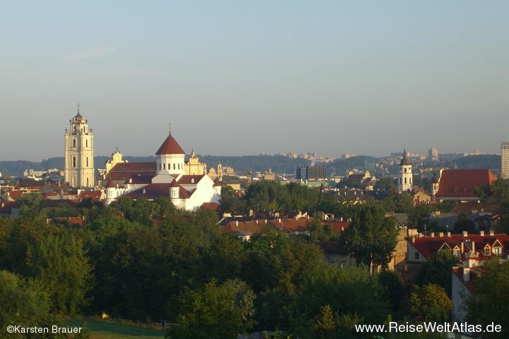 Dächer von Vilnius