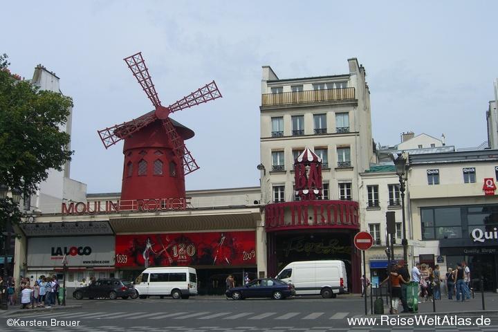 Die bekannte Rote Mühle