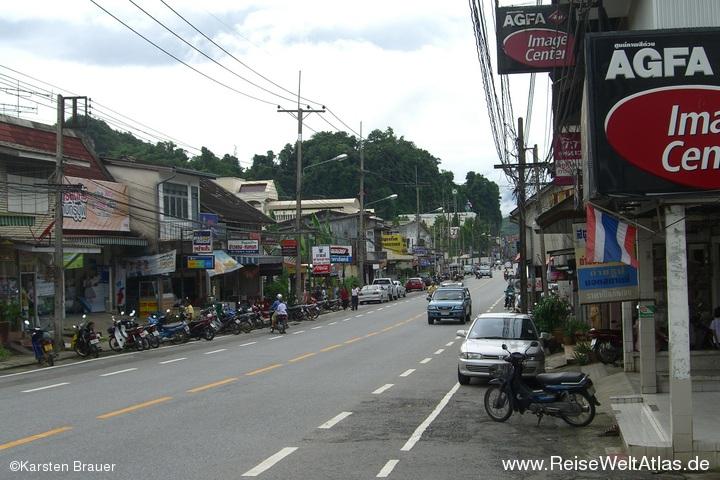 Downtown Phang Nga