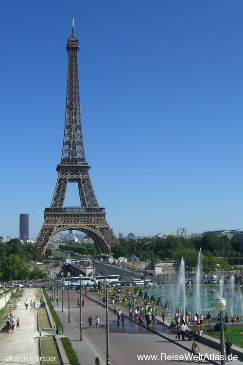 Eiffelturmpanorama