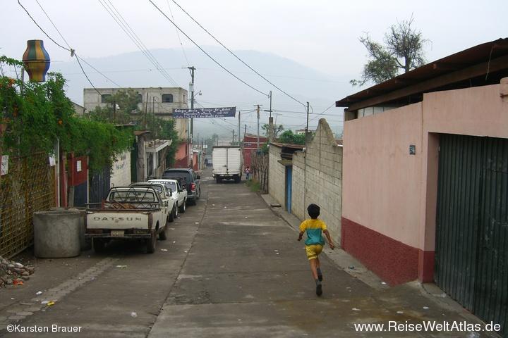 Eine Straße
