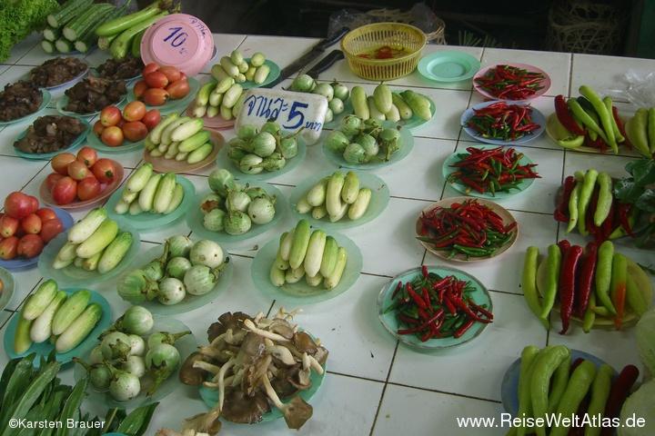 Gemüseportionierung