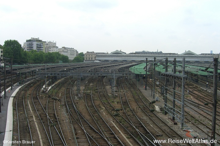Gleise vom Gare de l´Est