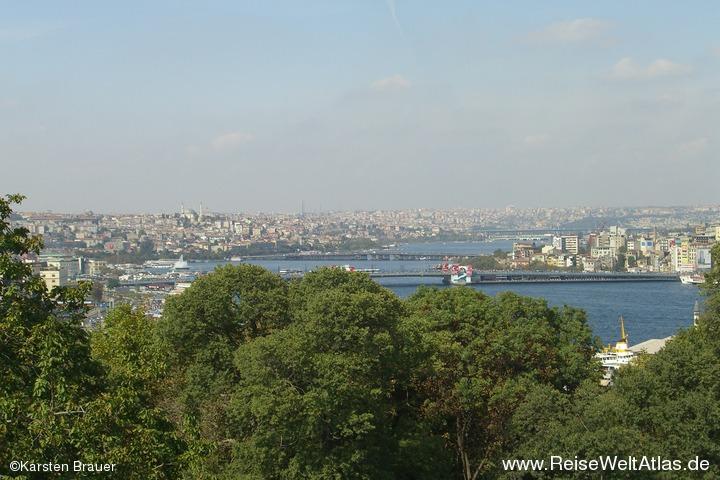 Goldene Horn von Istanbul