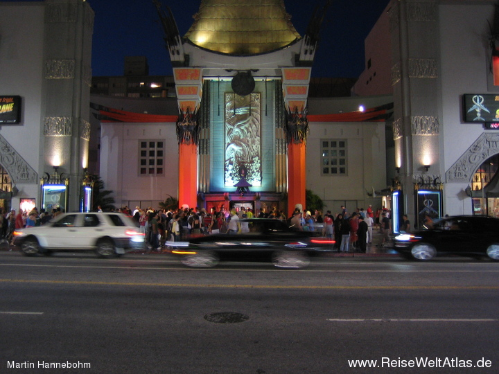 Grauman's Chinese Theatre bei Nacht
