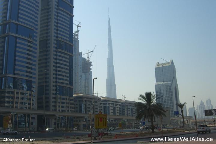 Hochhinaus: Burj Dubai