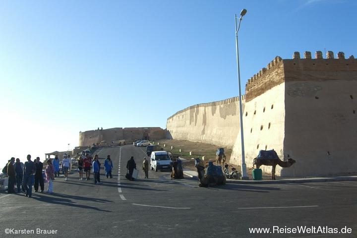Kasbah-Mauern