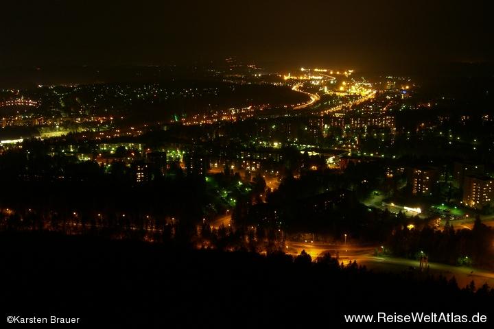 Kuopio bei Nacht