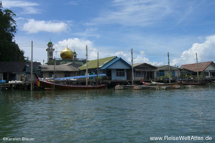 Moschee auf dem Wasser