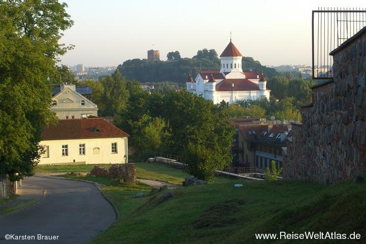Orthodoxe Kirche & Gediminas Castle