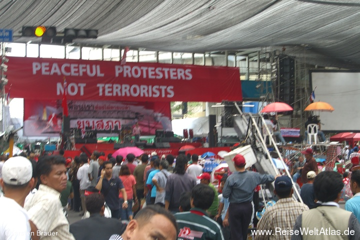 Peaceful Protesters, not Terrorists