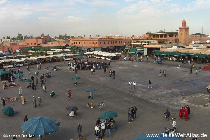Platz Djemaa el Fna