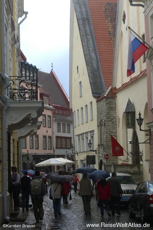 Regen in Tallinn