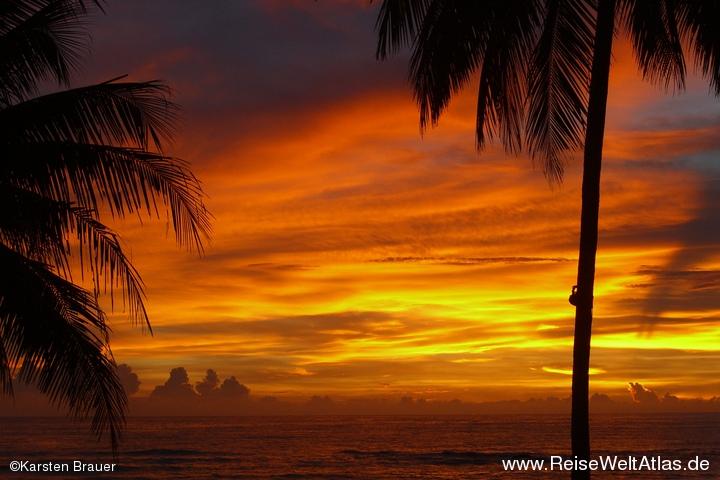 Sonnenuntergangspanorama