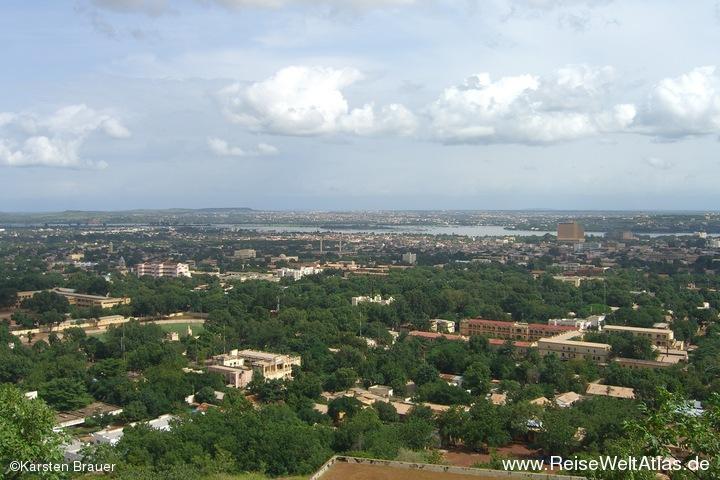 Stadt am Niger