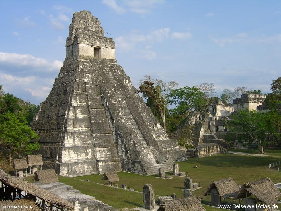 Tikal Mayatempel 187 Foto Reiseweltatlas De