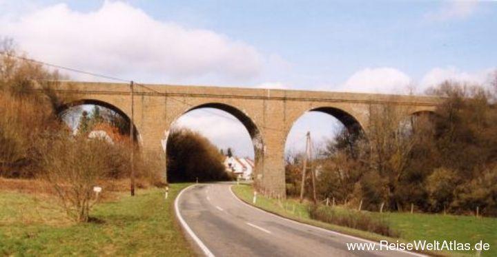 Viadukt Ostertalbahn Haupersweiler