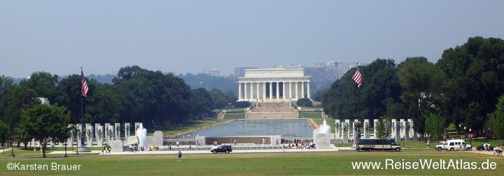 WW2 & Lincoln Memorial
