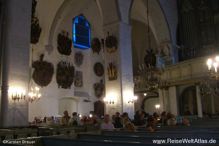 Wappen in der Domkirche